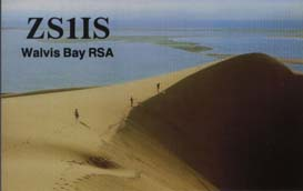 ZS1IS2 QSL Card